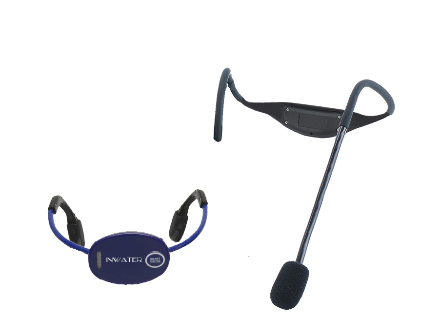 inwater-submersible-bone-conduction-wireless-microphone-system